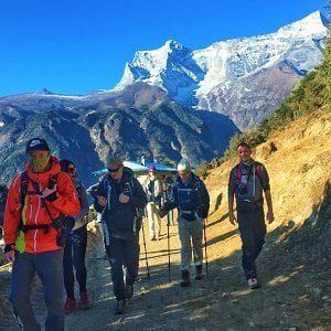 Everest three high pass trek for 3 high passes