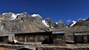 this view at muktinath is waiting either you do thorong la pass from phedi or high camp