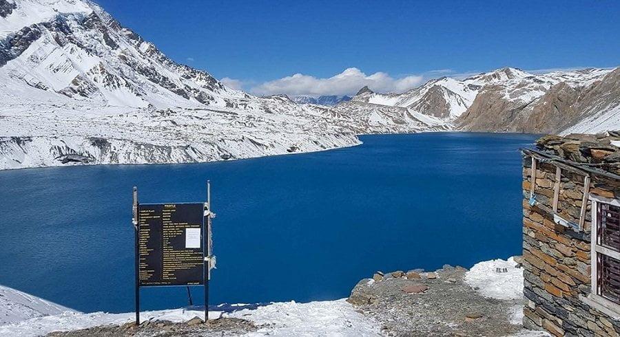 Annapurna circuit tilicho lake trekking