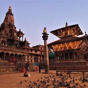 Patan Durbar Square premises you will see in the patan day tour