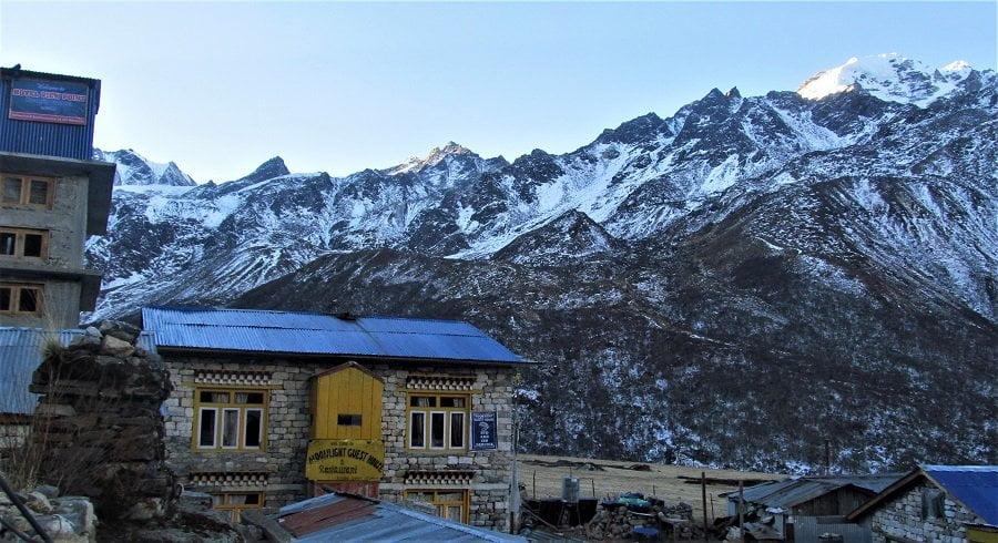 At the last village of Langtang valley - Kyanjing village at 3900 meters