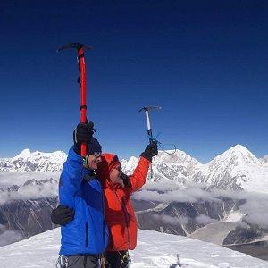Atop of larkey peak - an adventure climbing in manaslu restricted region and region's famous larkey peak climbing