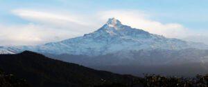 view of Mount fishtail during Mardi himal trek