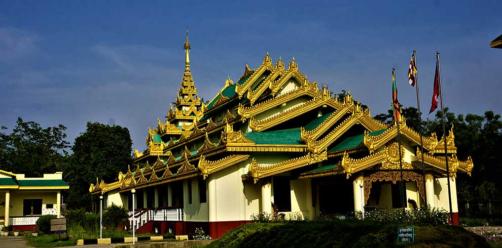 Thai monastery at Lumbini