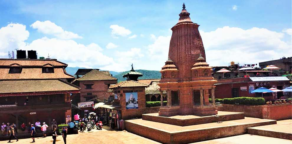 Sikhara style temple at Bhaktapur