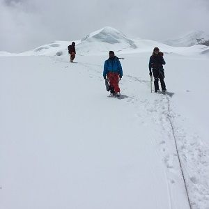 climbers trekking done after mera peak climbing their best Peak Climbing in the Nepal best trekking peak Mera