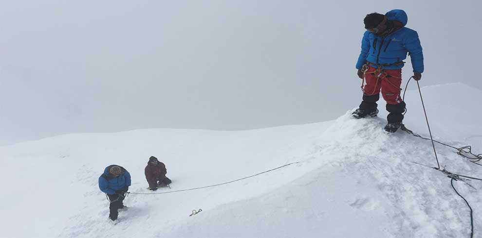 Wating for the summit
