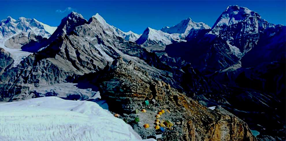 High Camp of Mera peak