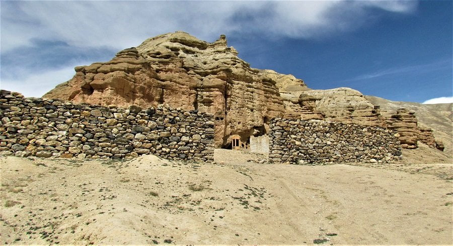 Choser cave of Upper mustang - captured in our side trip from Lho manthang village during upper mustang trekking