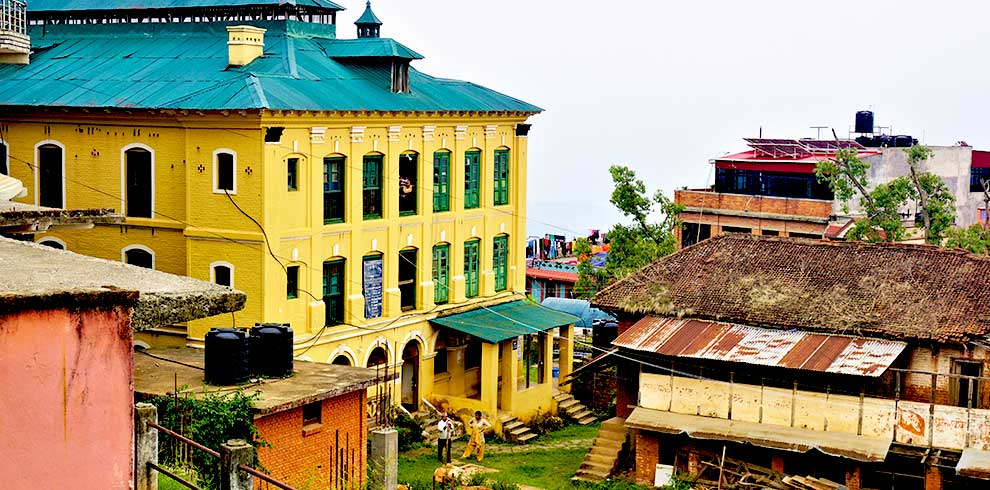 Palpa - Palace of the king - back then when the village used to be a separate country from Nepal