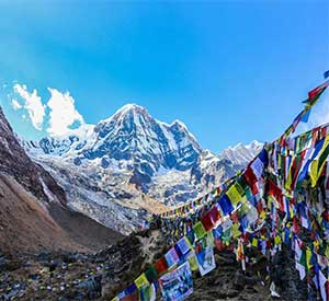 Annapurna basecamp is a famous basecamp trekking destination in Nepal