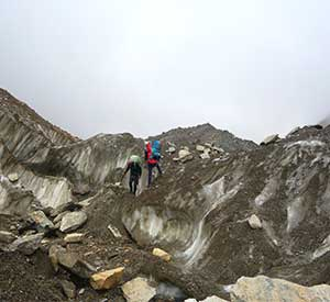 Hardest pass and less visited part of Dhampus Pass is a remote trekking destination in Nepal