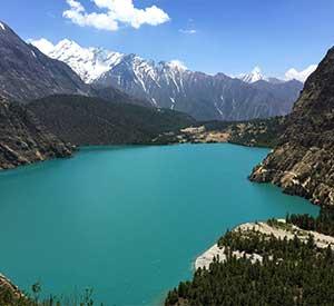 Phoksundo lake of Dolpo Nepal