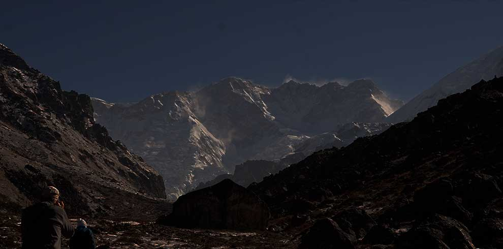 Mountain seen in Limi Valley trek in Humla Nepal