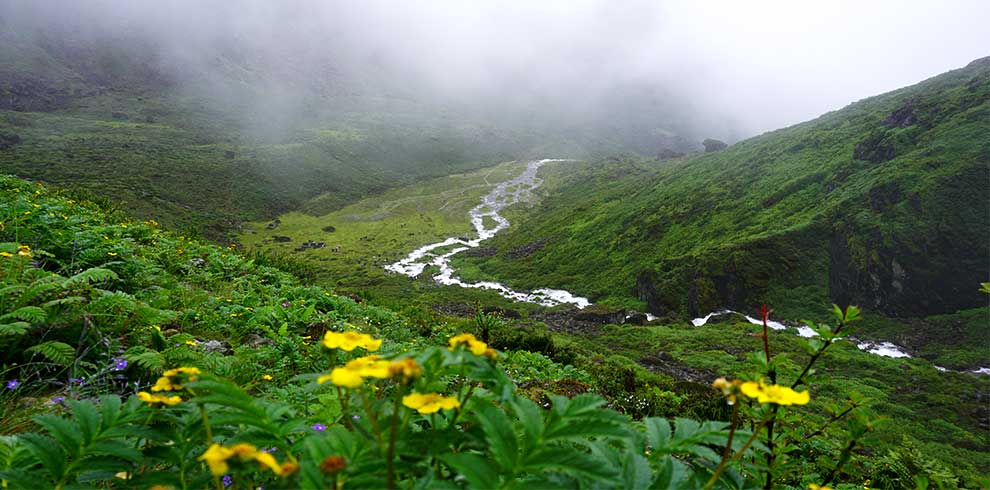 Trekking Limi valley in the monsoon season - when it rains alot