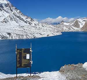Beautiful lake destination in Nepal