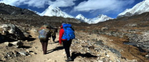 Everest three high pass trek a true heaven