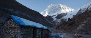 Beautiful view of Mount Makalu