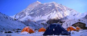 Camp near Makalu