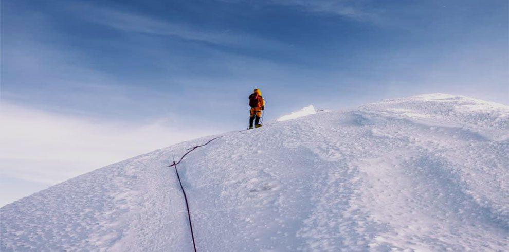 Peak climbing in everest basecamp trekking trail